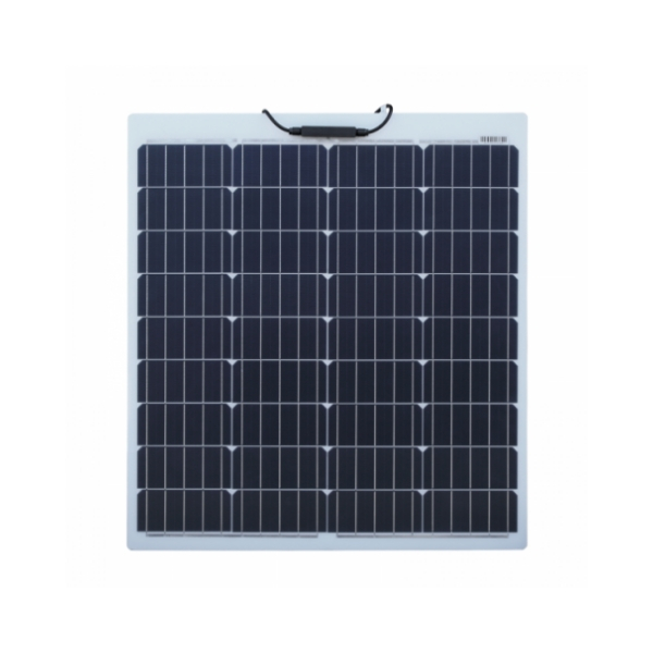 80w semi flexible solar panel - front2