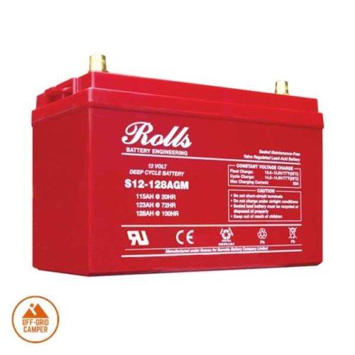 Rolls S Series 128Ah AGM Leisure Battery